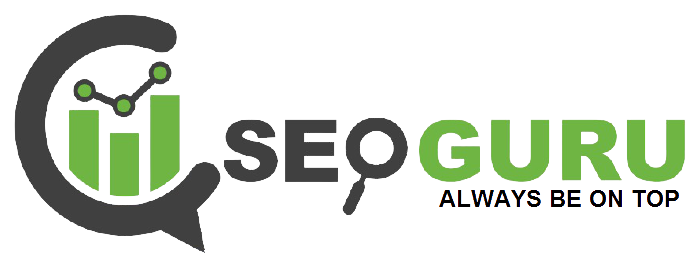SEO GURU ALWAYS BE ON TOP Logo